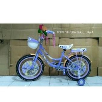 sepeda anak perempuan MINI BNB ukuran 18
