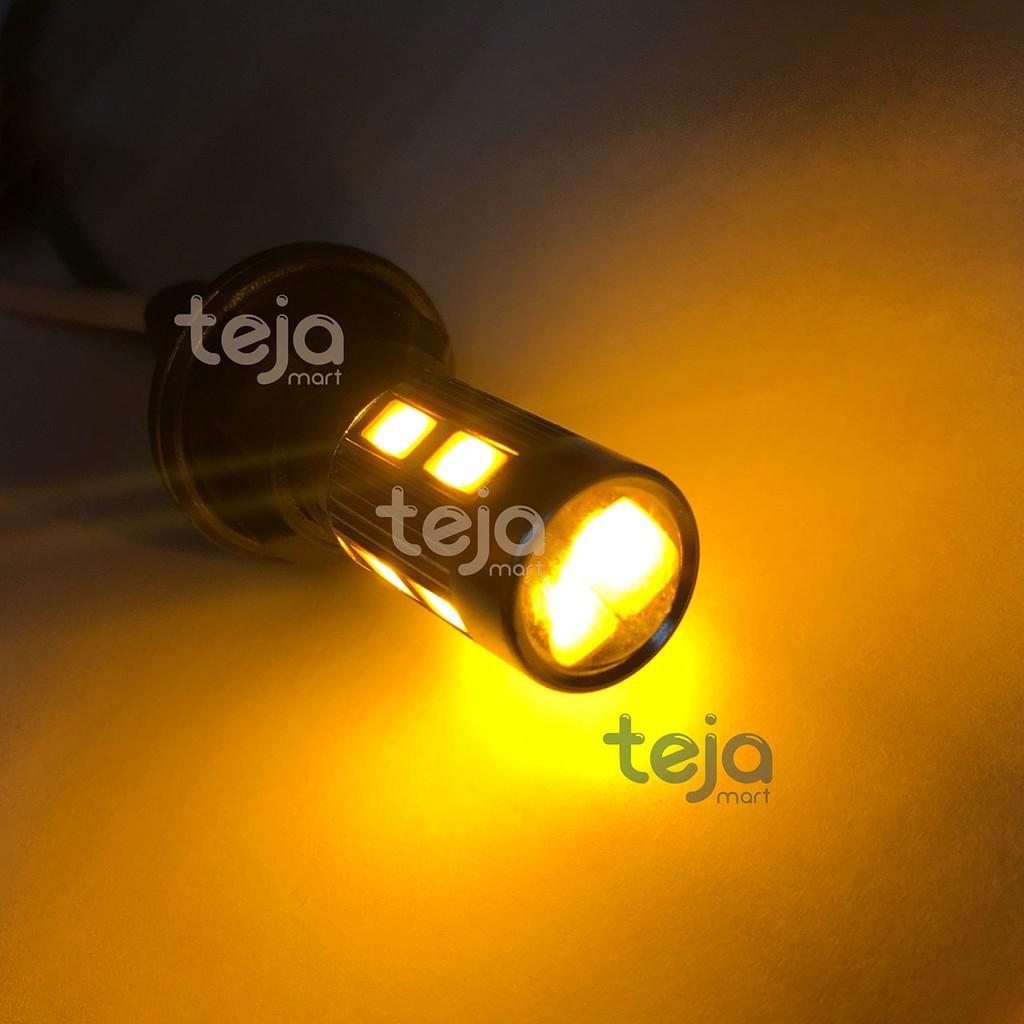 Lampu Senja Led T10 Kuning Silicon Atau Sein Sen Colok T 10 Biru Isi 2 Pcs Shopee Indonesia