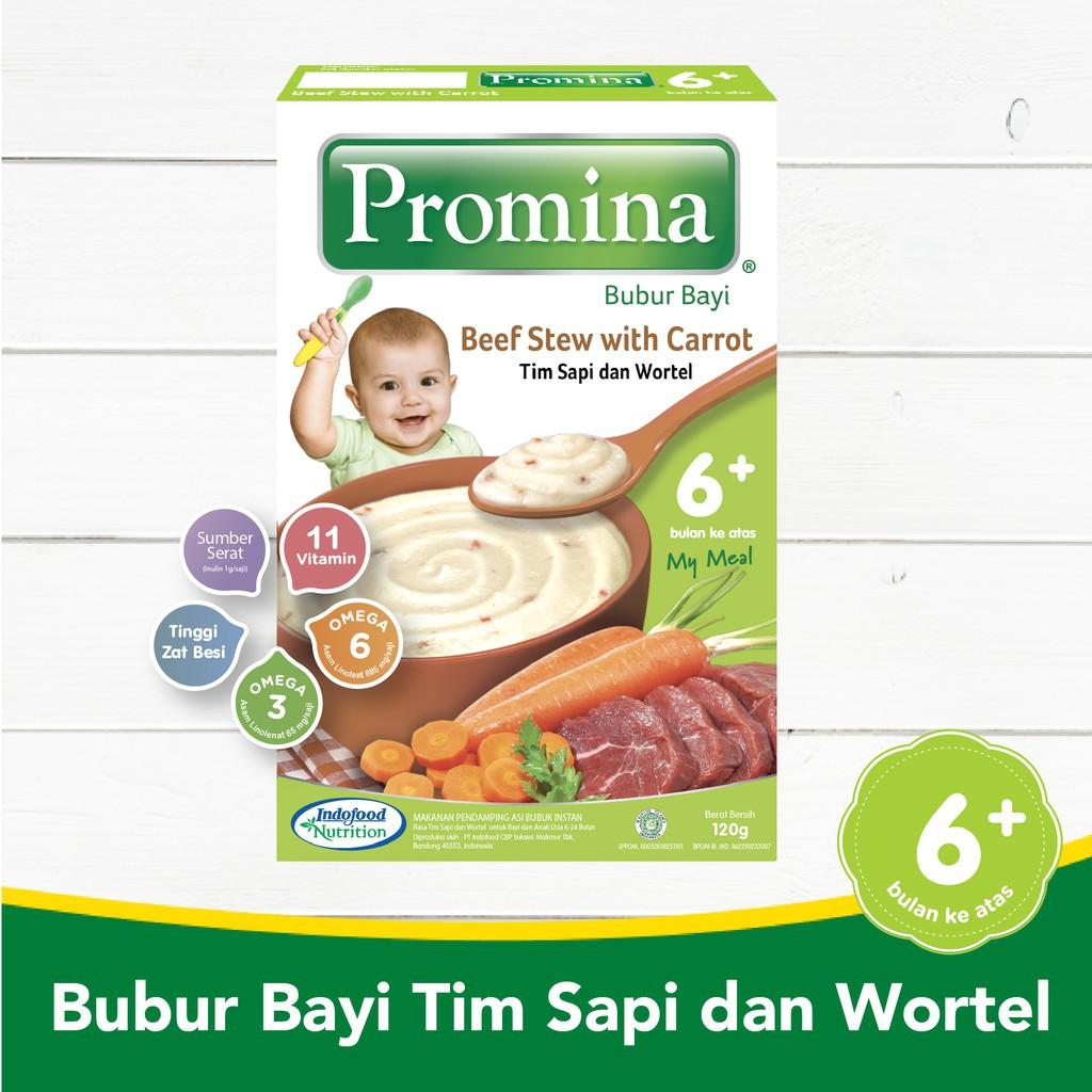 Promina Bubur Bayi Makanan Pendamping Asi Bubuk Instan Untuk 6m
