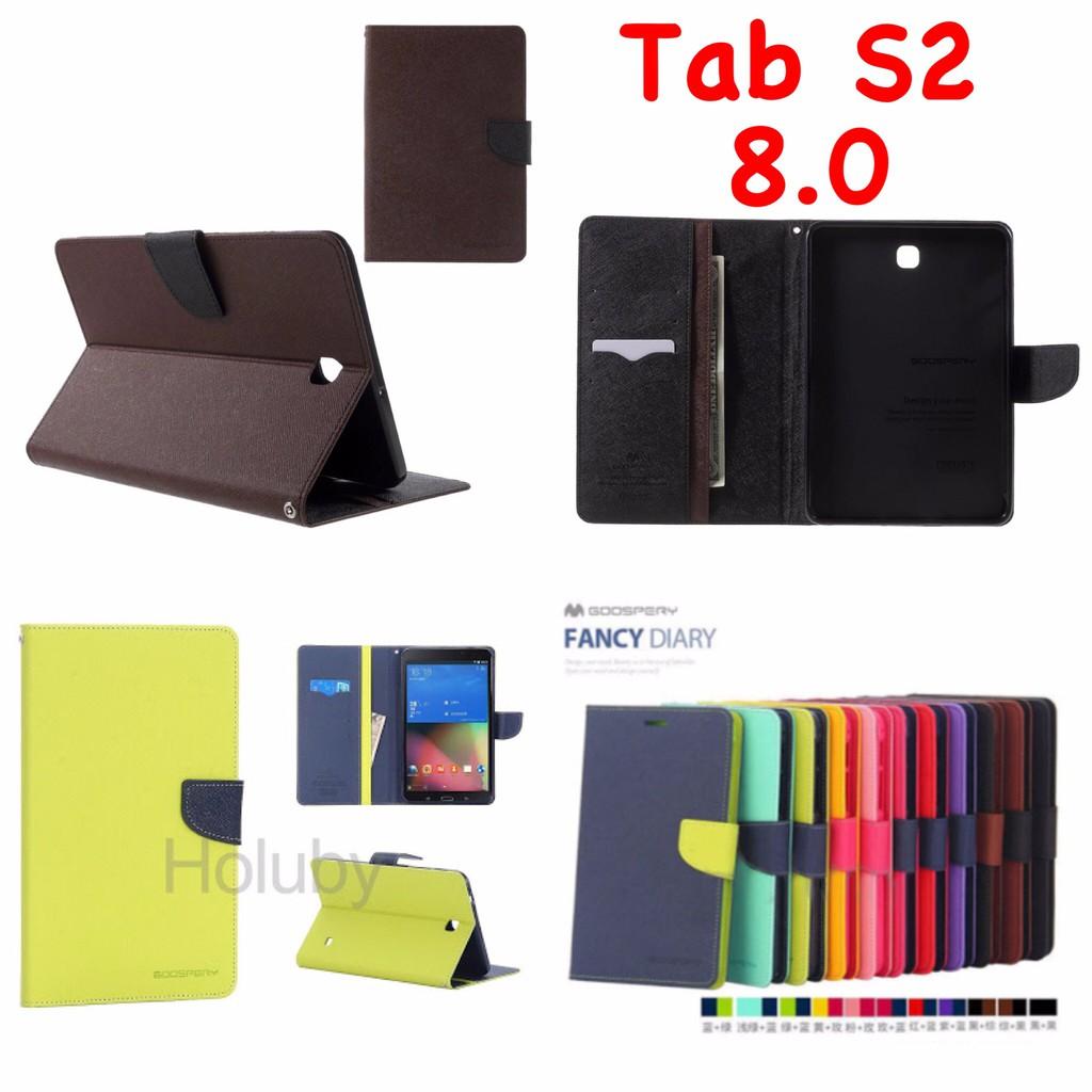 Samsung Galaxy Tab S2 9.7 T815 Original Mercury Goospery Fancy Diary Case | Shopee Indonesia