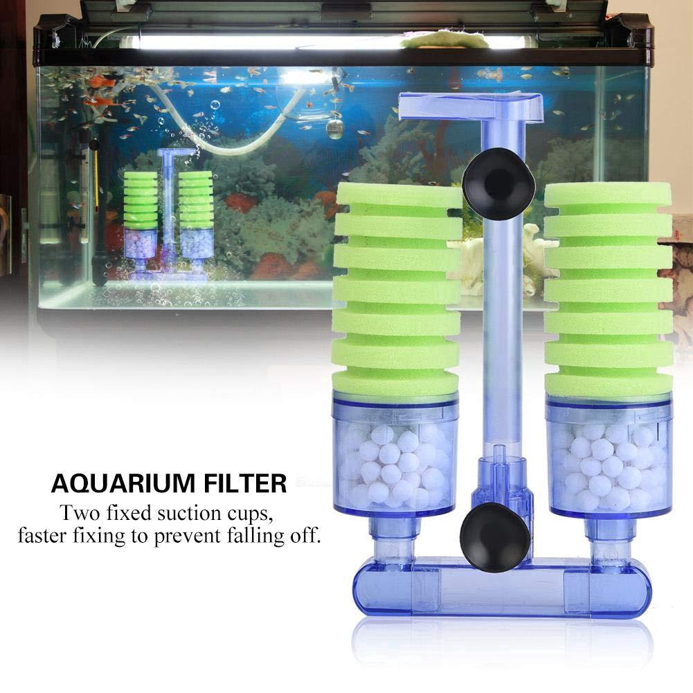 Aquarium Filter Sponge Biochemical Filter Cotton Using With Oxygen Pump For Mini Fish Tank Air Pump Shopee Indonesia