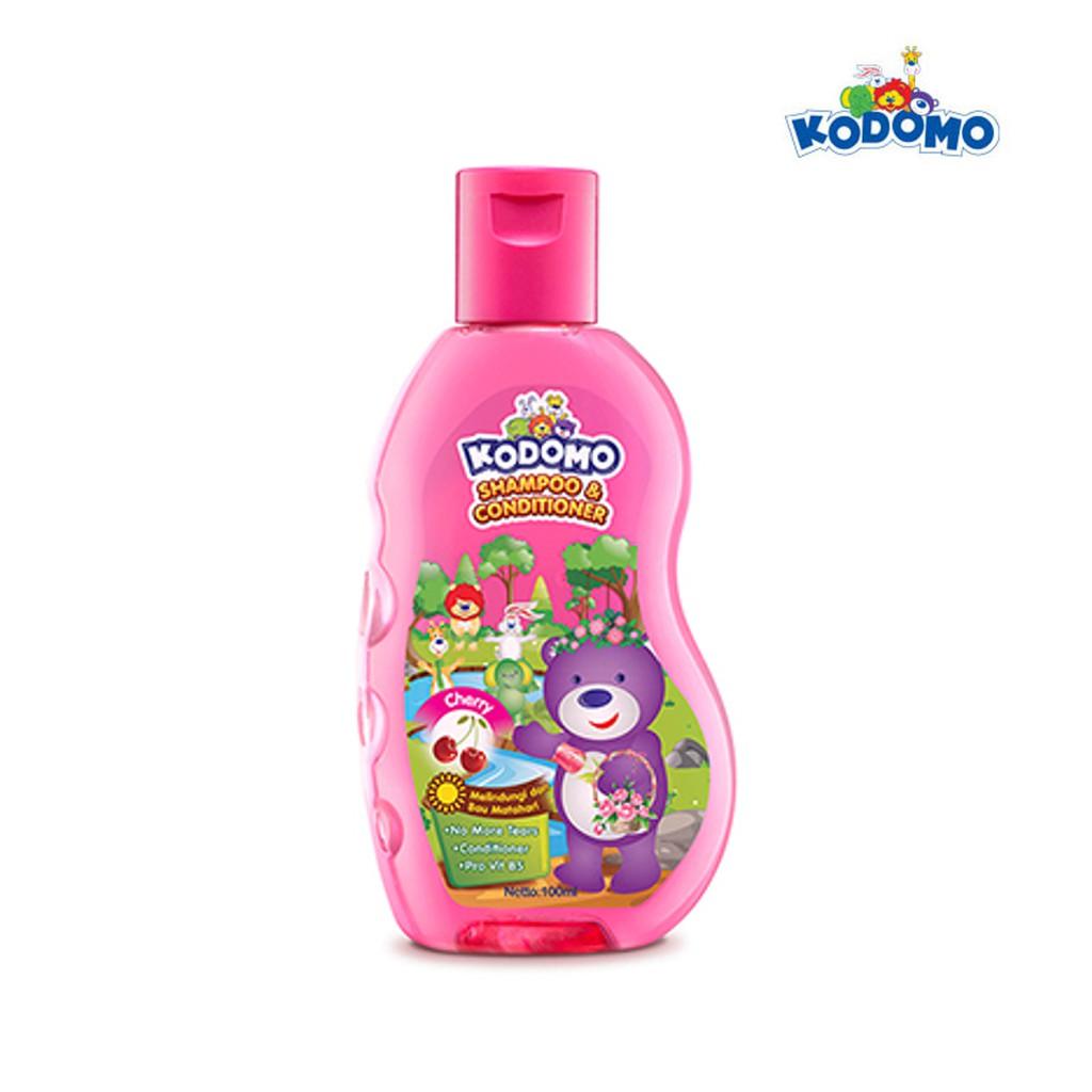 KODOMO Shampoo GEL CHERRY Botol 200ML-2