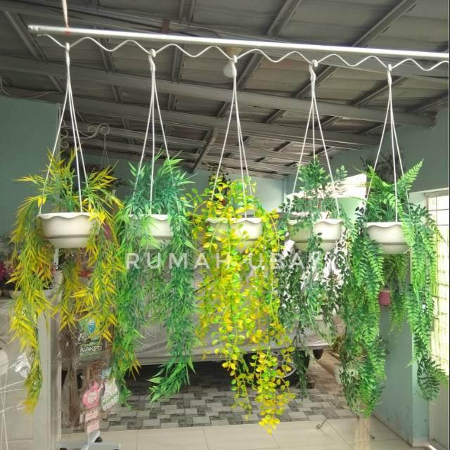 Bunga Juntai Pot Gantung Daun Gantung Bunga Gantung Shopee Indonesia