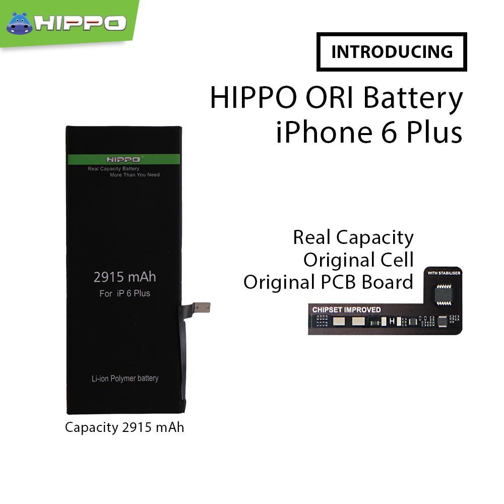 Hippo Baterai Iphone 6 Plus   6+ 2915mAh Original Cell Quality ... 5ab33052a8