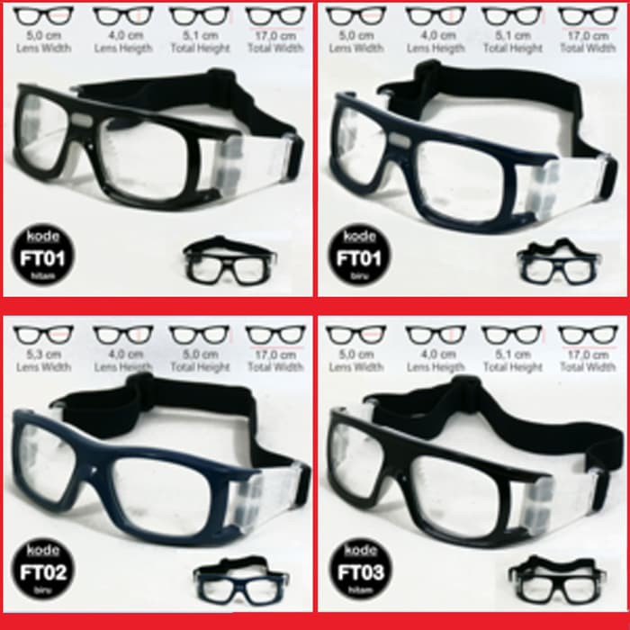 ... Kacamata Olahraga Sport Cougar Minus Basket Futsal Motor Badminton  Murah ... 8bbc8d8f72
