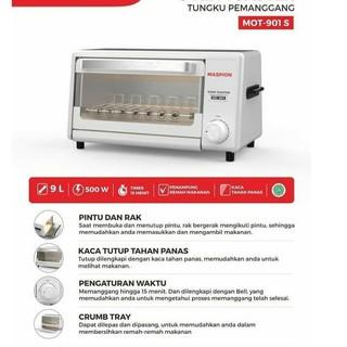 Bpk Maspion Mot 500 Oven Listrik Maspion Shopee Indonesia