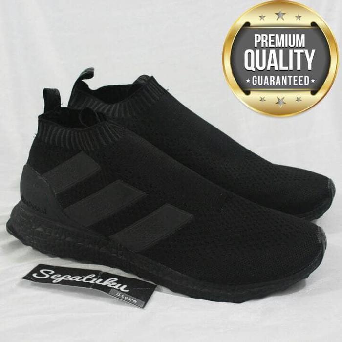 Nike Flyknit Racer Full Black Triple Black Black out - Premium Quality  27b6879e7d