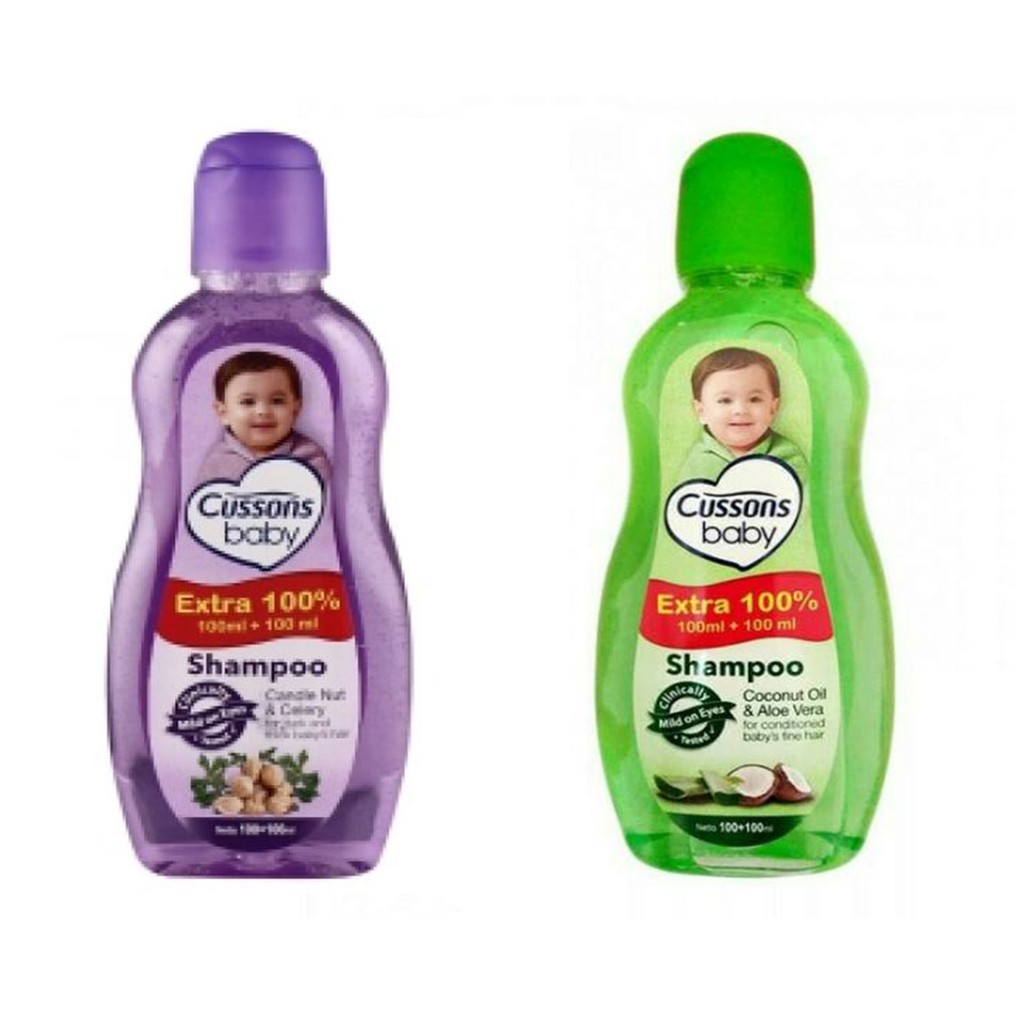Cussons Baby Shampoo Coconut Oil And Aloe Vera 100 Ml Daftar Hair Lotion Candlenut Celery 100ml Candle Nut Shopee