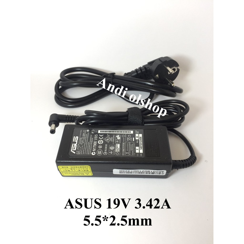 Adaptor Charger Laptop Asus X44 X44a X44c X44h X43 X43u X43s Keyboard Series Hitam Original Shopee Indonesia