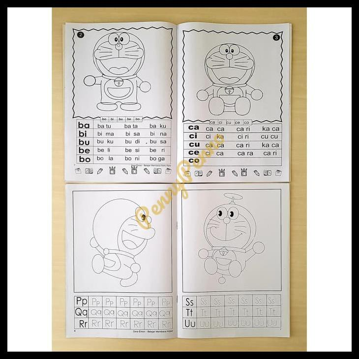 Buku Mewarnai Doraemon Uk 28 5cm X 21cm Kode 222 Shopee Indonesia