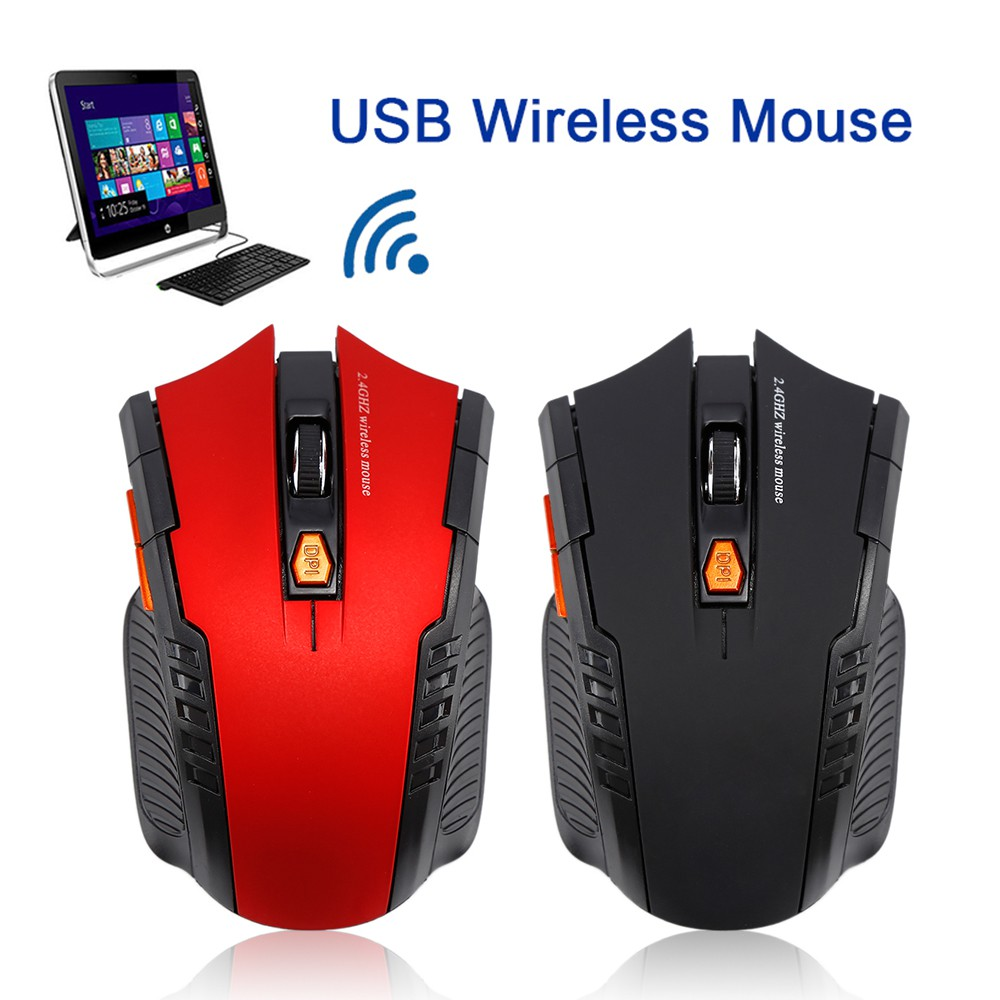 Azzor Mouse Gaming Wireless Rechargeable Usb 2400 Dpi 24g Black Shopee Indonesia