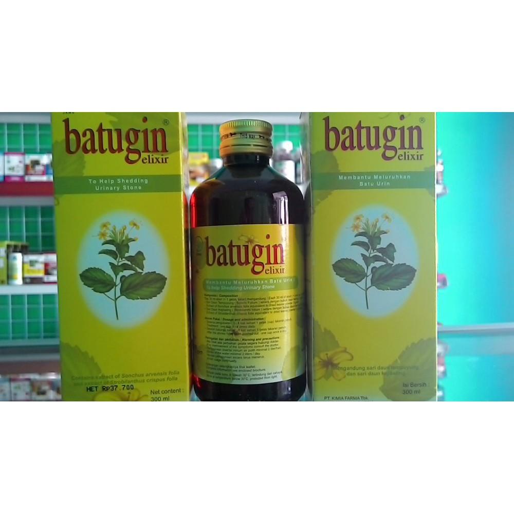 Murah Batugin Elixir 300 Mlbatu Ginjalpelancar Kemih Infeksi So Hup Wan Enceran Shopee Indonesia