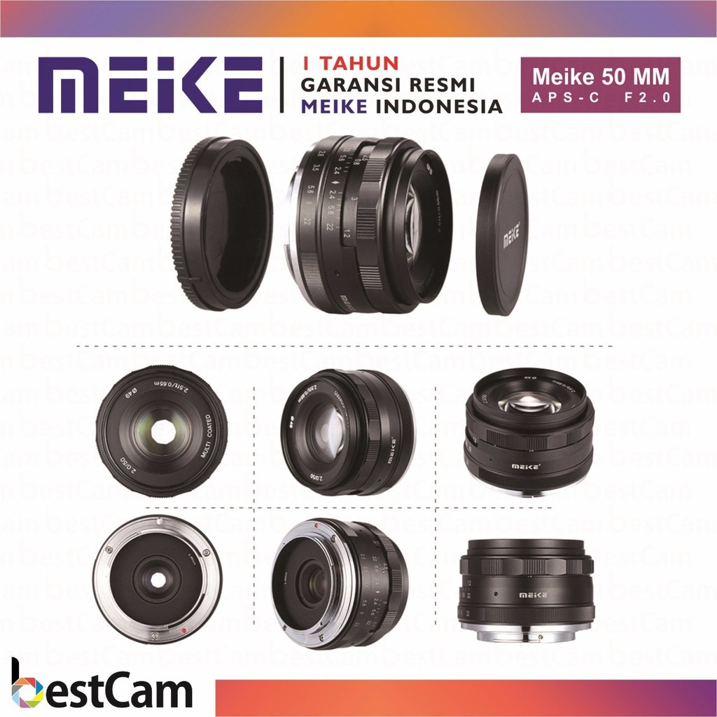 Lensa Mirrorless Meike 35mm F1 7 Aps C For Canon Eos M Shopee Sony Alpha A5100 Kit 16 50mm Hitam Indonesia