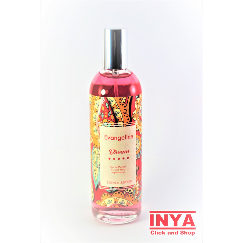 Parfum Natural Spray EVANGELINE DREAM 100ml Eau de Parfum | Shopee Indonesia