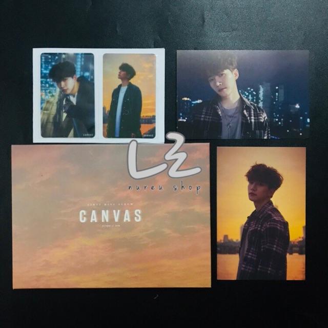 "Junho of 2PM - 1st Mini Album ""CANVAS"" (album, photocard, postcard)"
