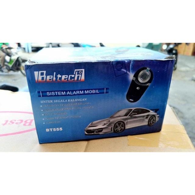 Alarm mobil remote beltech model kunci .
