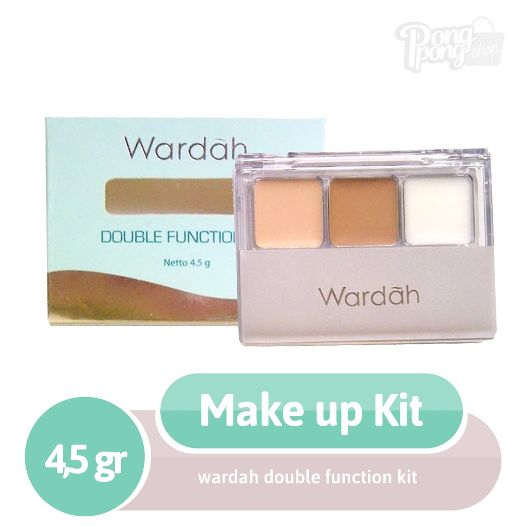 Wardah Double Function Kit Shopee Indonesia Make Up Special Edition