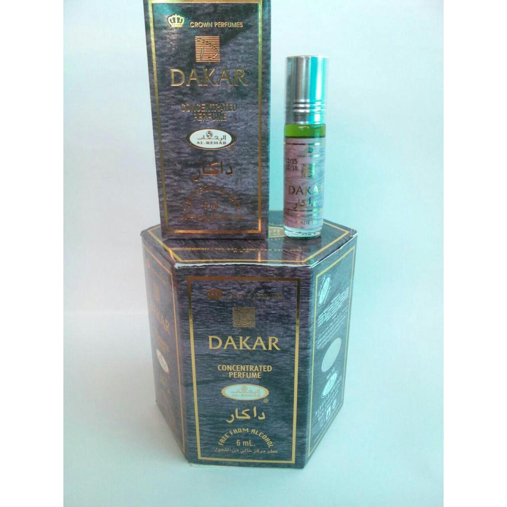 Parfum Al Rehab Dalal Shopee Indonesia Dakar Spray Original 50ml