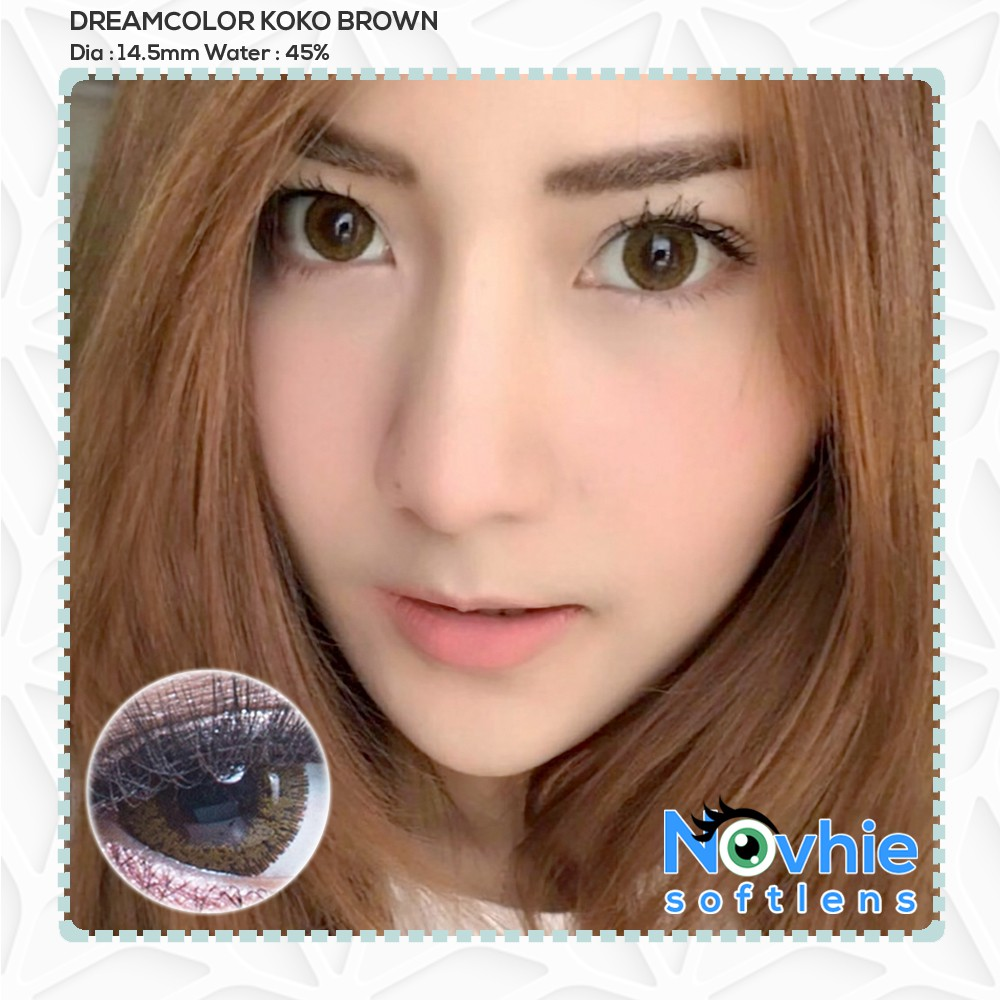 DREAMCOLOR LYDIA / SOFTLENS LYDIA / DREAMCOLOR1 LYDIA / DREAMCON LYDIA | Shopee Indonesia