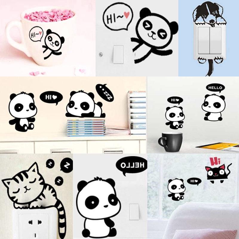 41++ Hewan kecil gambar kartun panda lucu terbaru