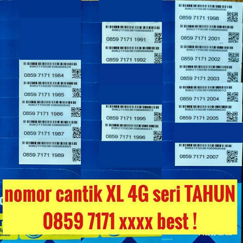 nomer cantik pilihan kartu perdana simpati 11 digit telkomsel 4G lte | Shopee Indonesia