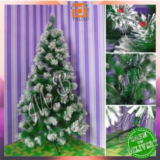 ofm-c15 pohon natal 90cm 3f jarum dekorasi rumah