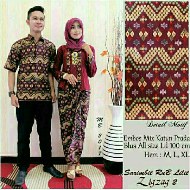 Manisha Batik Couple Prodo Zig Zag