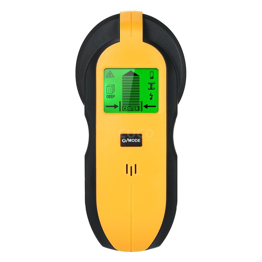 Meterk Stud Sensor with Large LCD Display Finder Wood Studs Center Multi Wall AC