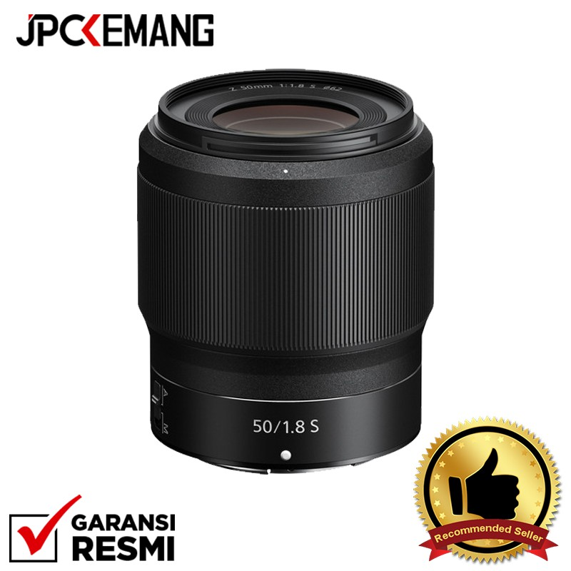 Nikon Z 50mm f/1.8 S Lens Garansi Resmi