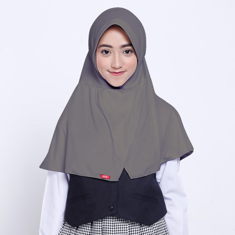 Kerudung Anak ZOYA Bergo Hijab Instan Small - CERDASMINI Bombompedia
