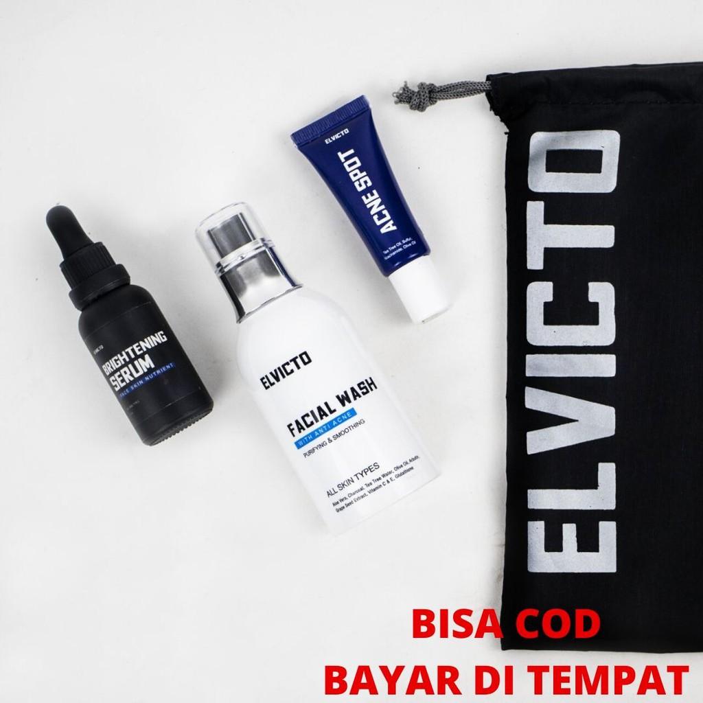 Paket Acne Skincare Pria Skincare Cowok Bpom Anti Jerawat Bruntusan Serum Acne Spot Facial Shopee Indonesia
