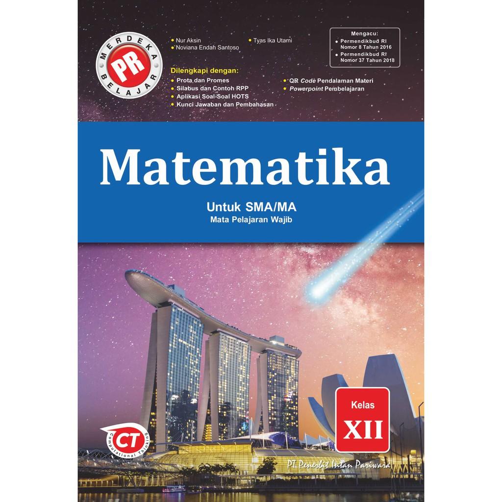 Buku Pr Matematika Wajib Sma Kelas 10 11 12 Intan Pariwara Semester 1 Th 2020 2021 Shopee Indonesia