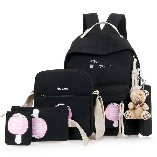 Promo termurah terlaris Backpack playboy tas sekolah tas anak sekolah TANPA  BONEKA  0a74213380
