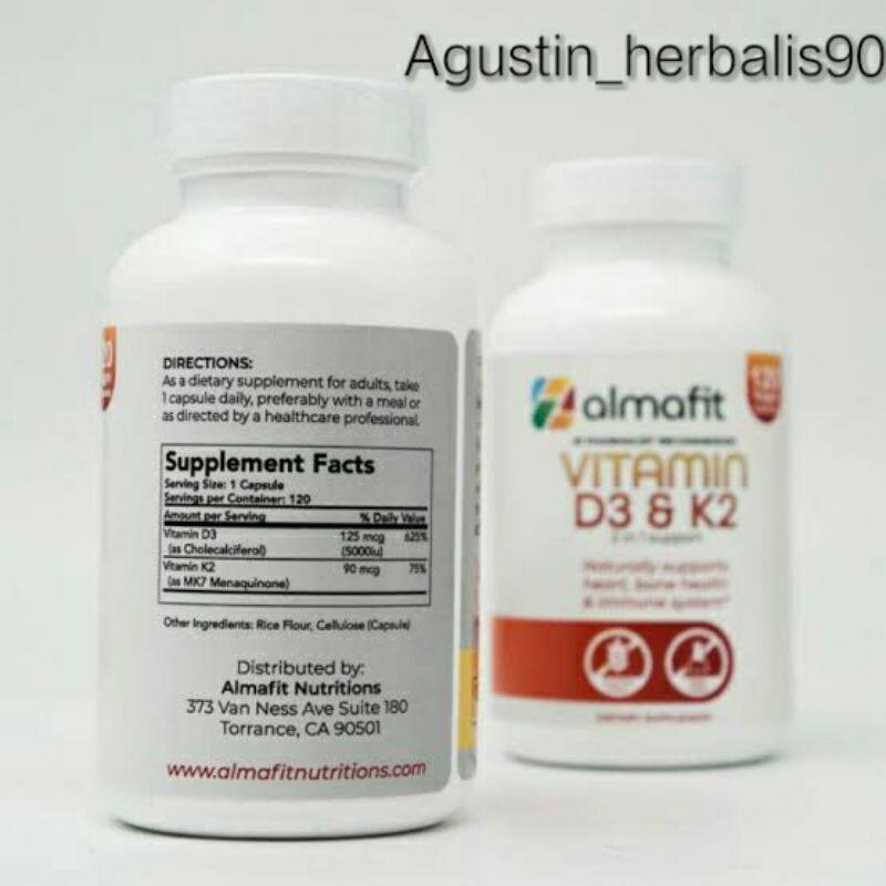 almafit vitamin d3 k2 5000iu