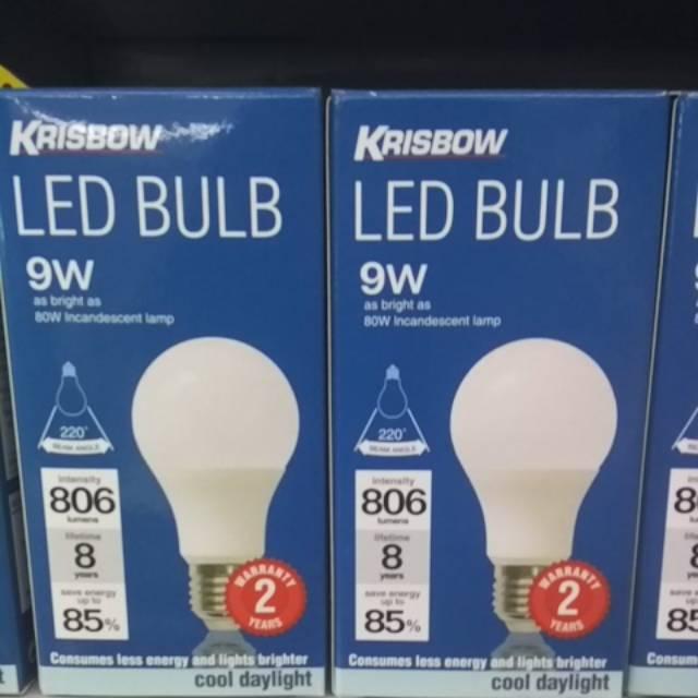 Krisbow Led Bulb 3 W 5 W 7 W 9 W 11 W Shopee Indonesia