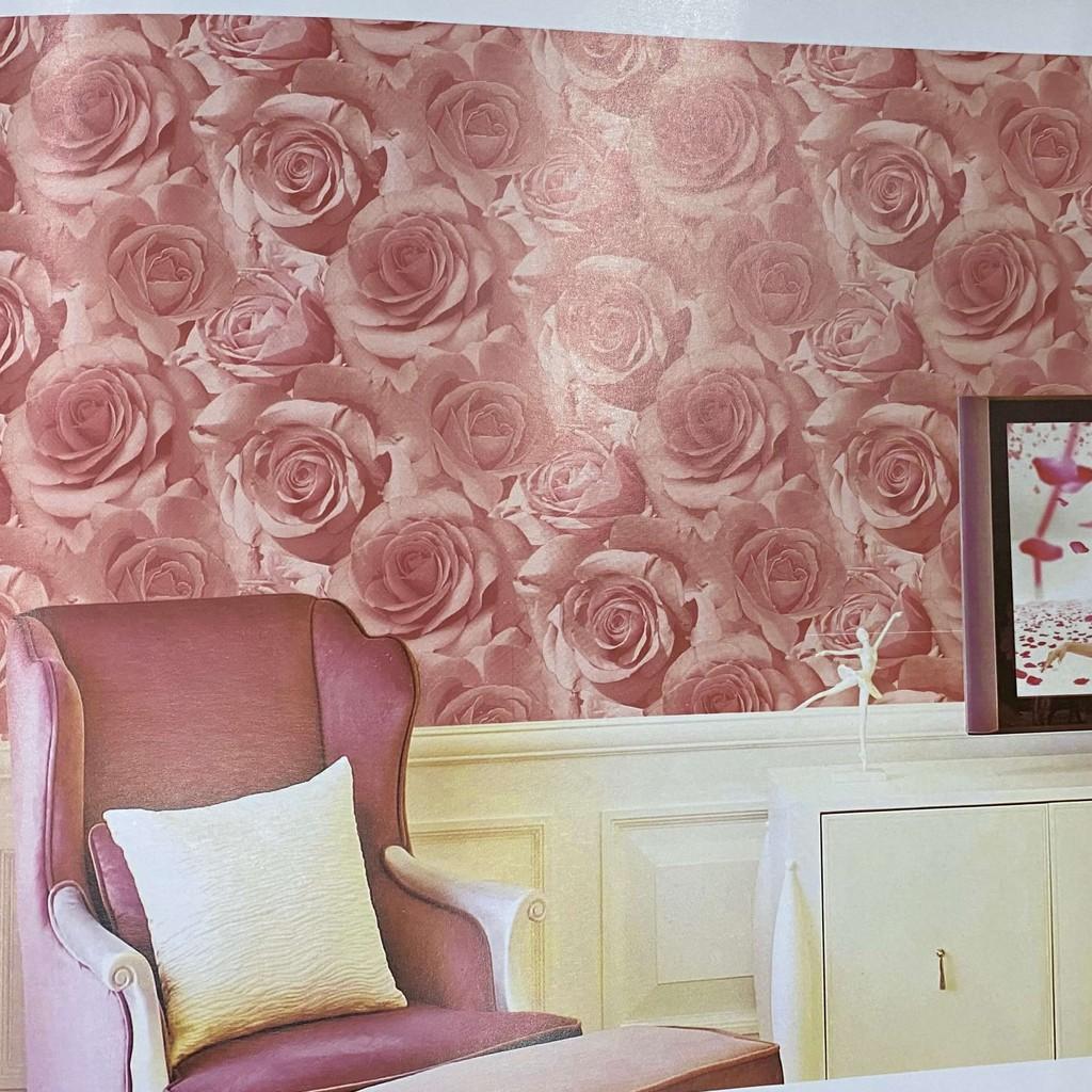 Wallpaper Dinding Minimalis Motif Bunga ...
