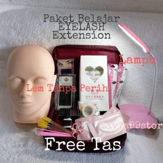 PAKET EYELASH EXTENSION PAKET BELAJAR EYELASH EXTENSION thumbnail
