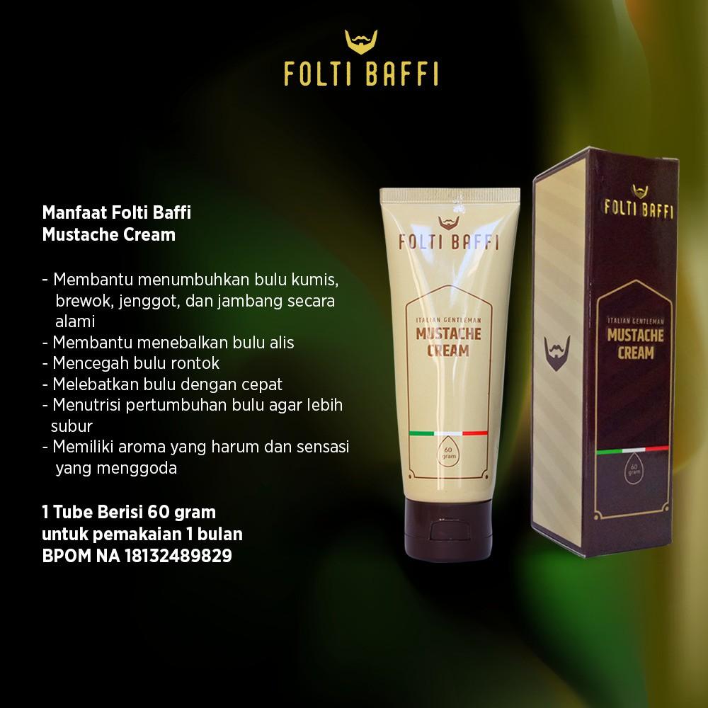 Cream Folti Baffi Green Angelica Obat Penumbuh Brewok Jambang Wak Doyok Jenggot Kumis Alis Rambut Botak Dan Herbal Shopee Indonesia