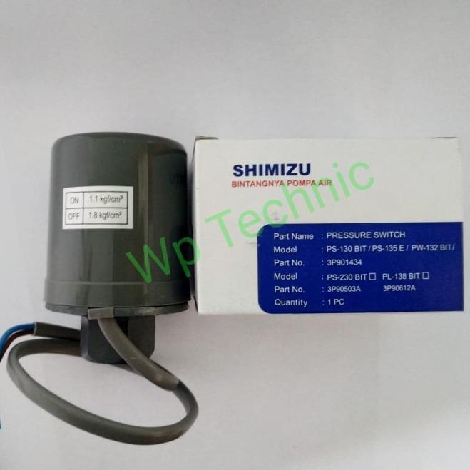 Otomatis Pompa Air Shimizu Original Ps 130 Bit 135 E Harga Termurah Shopee Indonesia