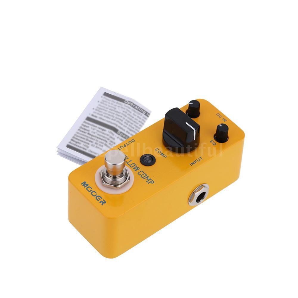 Brand New! Mooer Audio Yellow Comp Compressor Guitar Effect Pedal