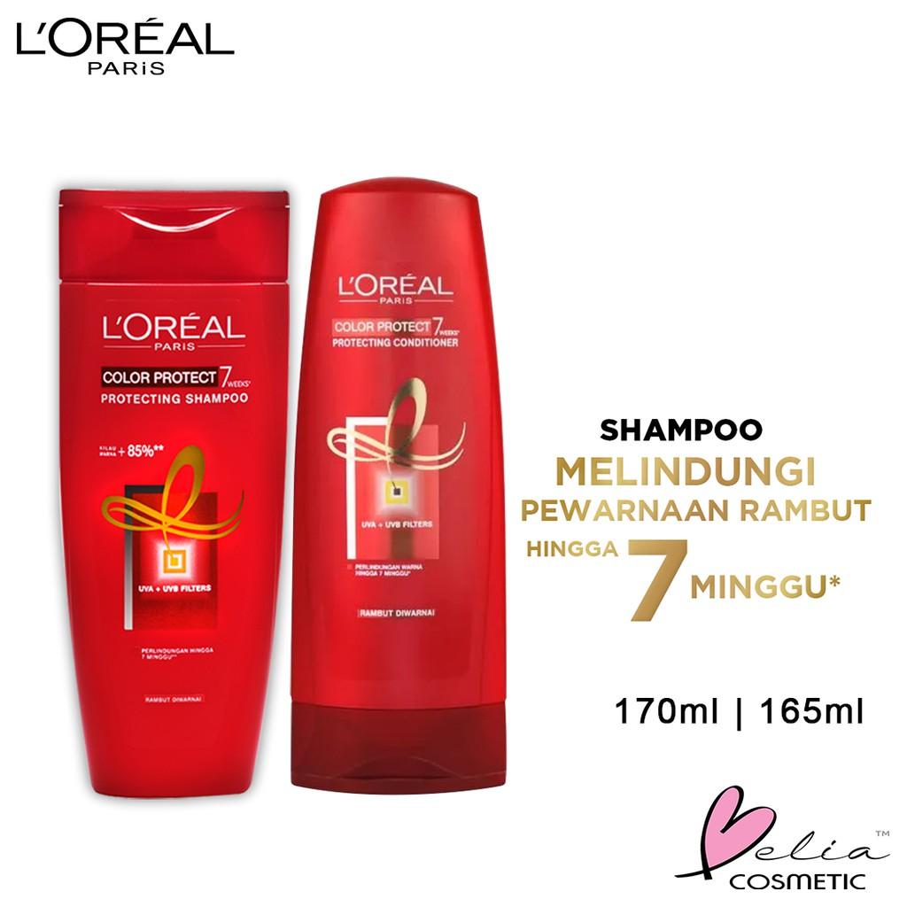 ❤ BELIA ❤ L'Oreal Paris Shampoo & Conditioner | Anti Rontok | Total Repair | Color Protect LOREAL-LOR Color Protect
