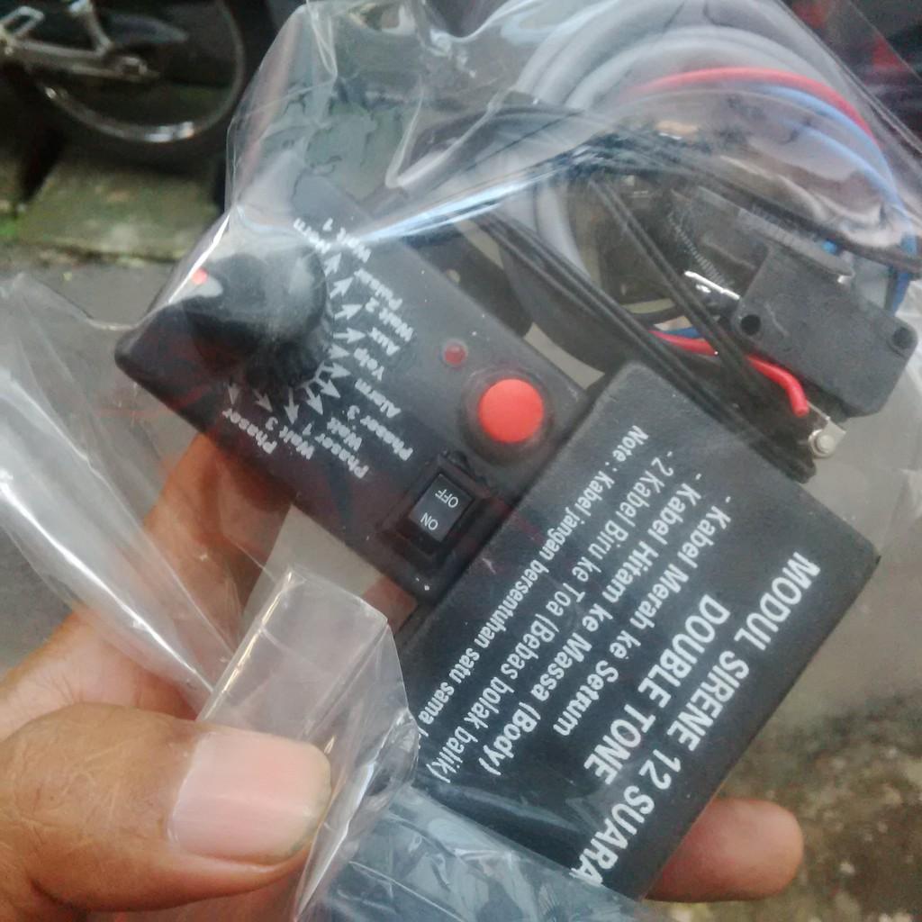 Modul Sirine Polisi Patwal 9 Suara Dual Tone Shopee Indonesia Klakson 7 80 Watt Best Quality