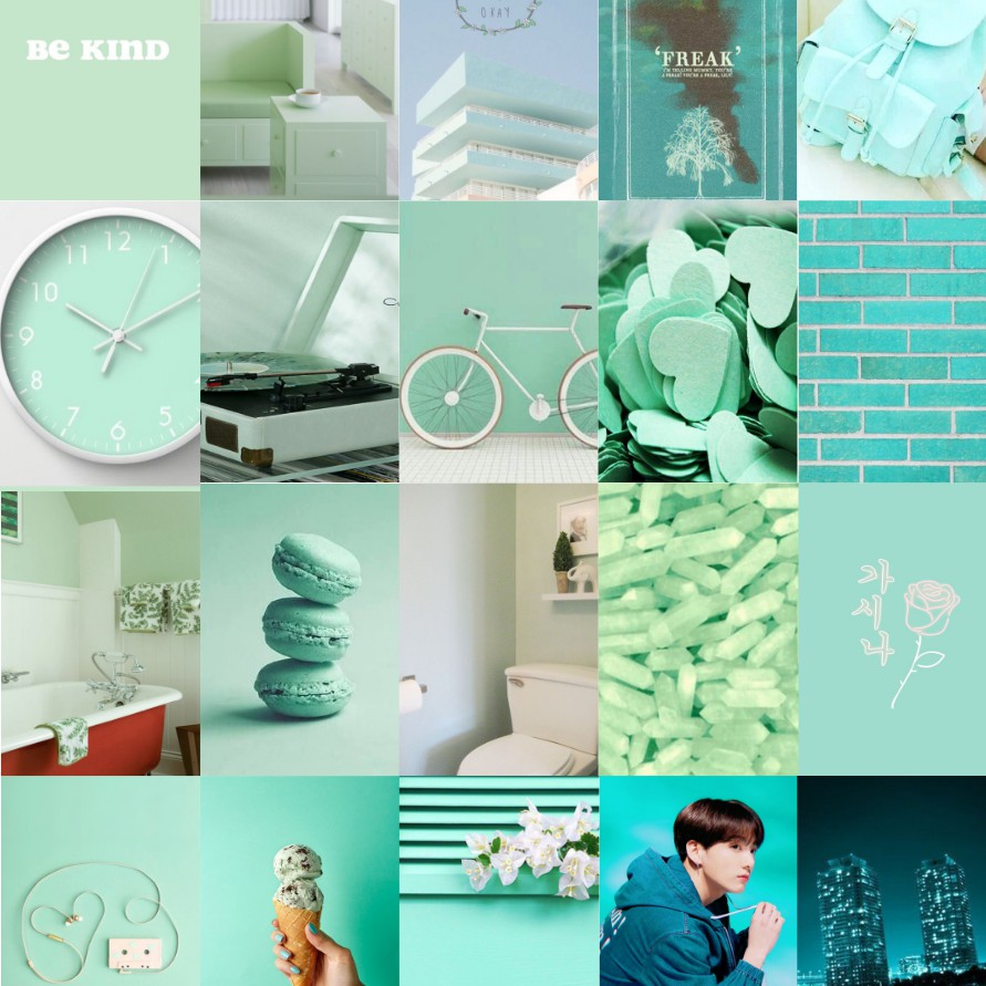 20 Psc Poster Tosca Aesthetic Dinding Wallpaper Tumblr Shopee Indonesia