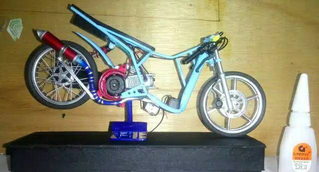 Termurah Miniatur Motor Mio Drag Keren Shopee Indonesia
