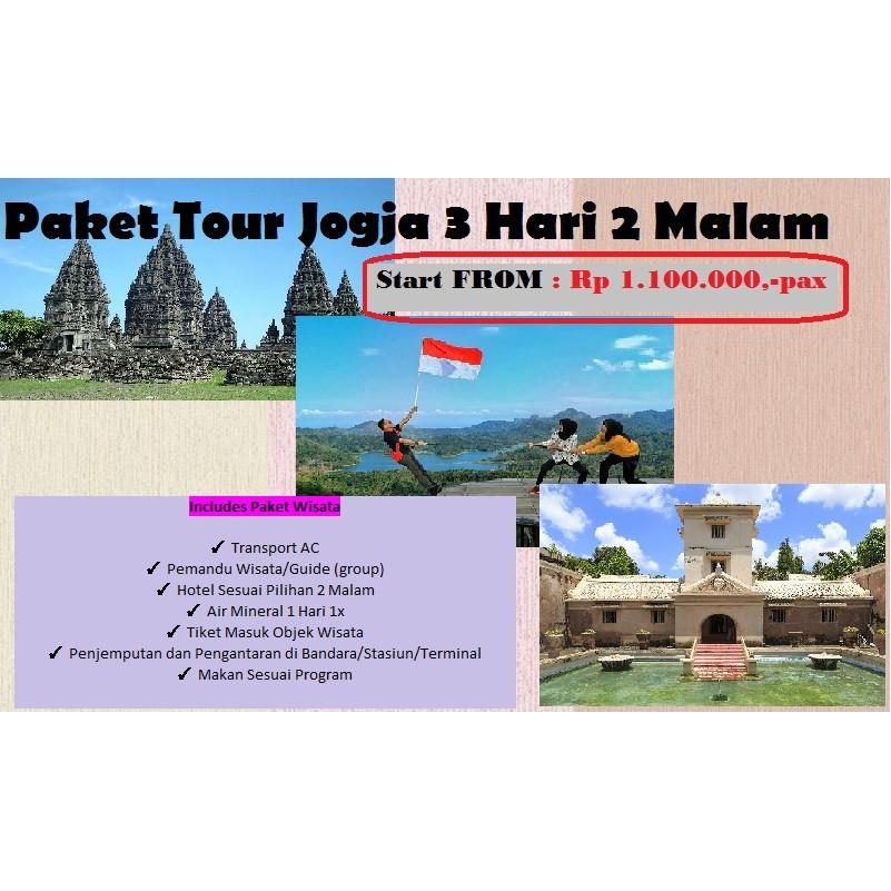 Paket Tour Jogja Murah Shopee Indonesia