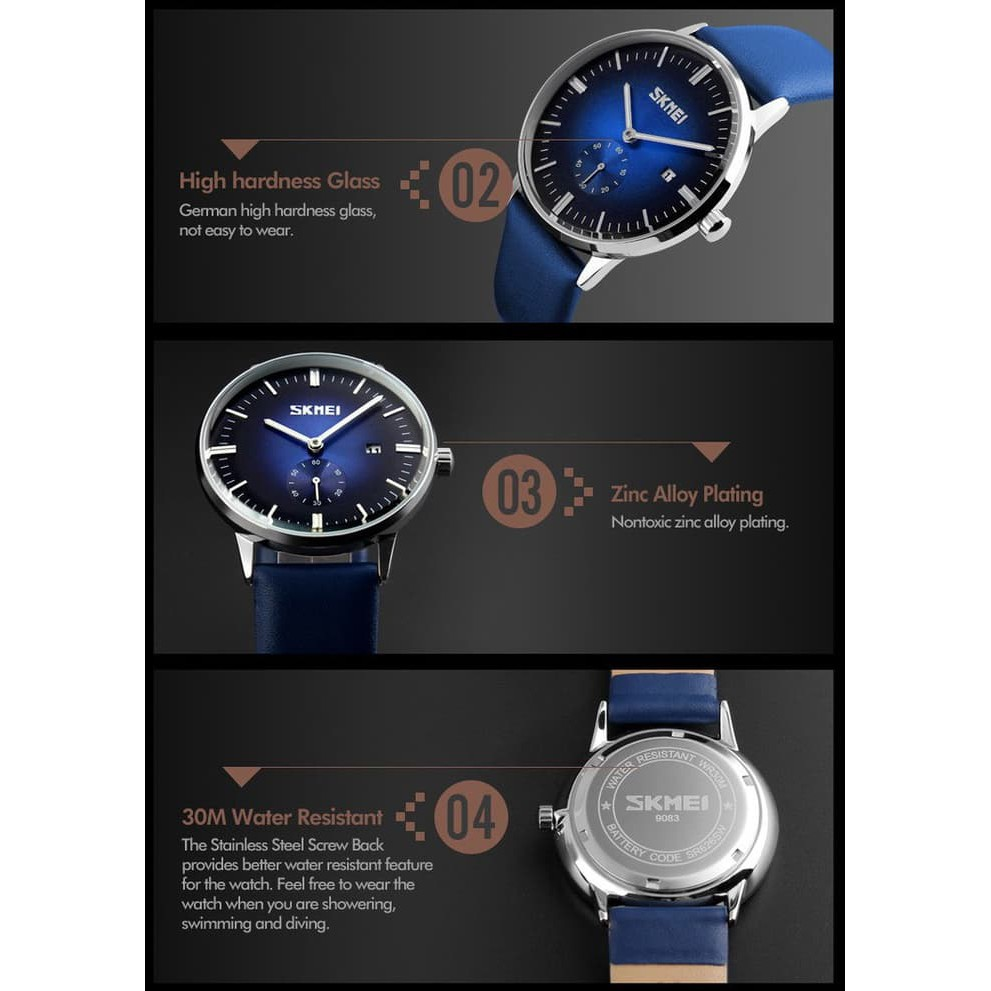 Skmei Sport Watch 1117 Original Water Resistant 50m Black Shopee S Shock Dg1025 Indonesia
