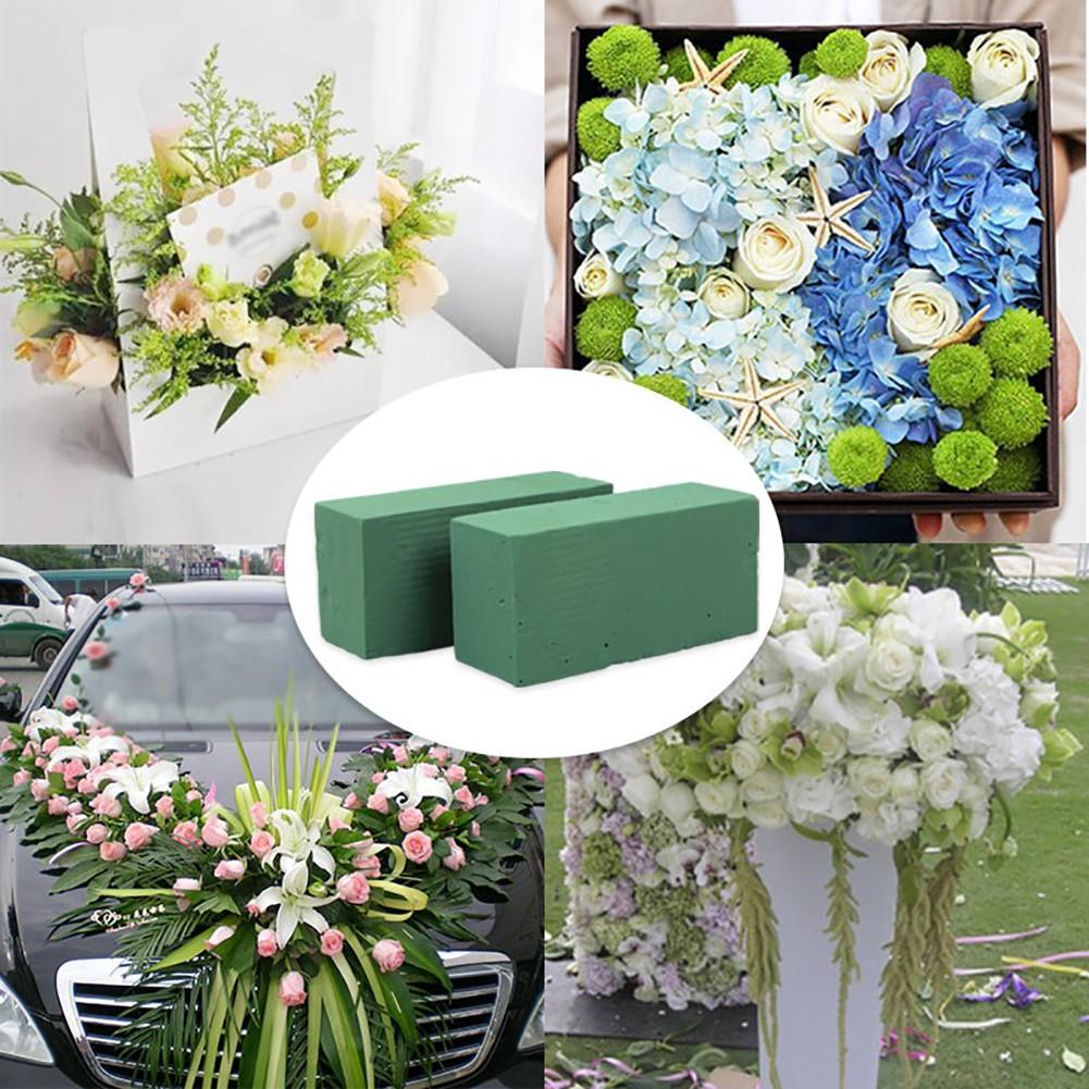 Floral Foam Brick Flower Holder For Flower Wedding Florist Design Diy Crafts Shopee Indonesia