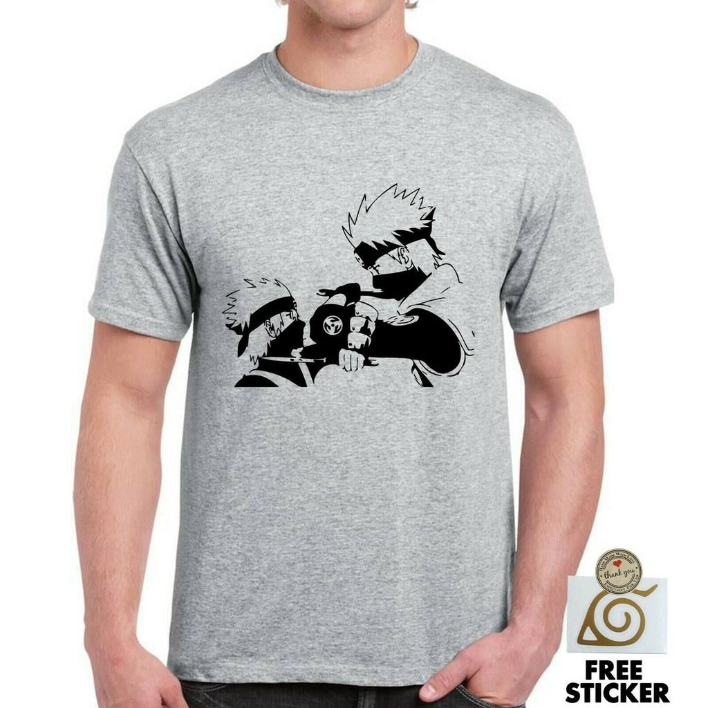 Kyuubi naruto anime japan movie gaara kakashi hokkage nine tails T-Shirt Black
