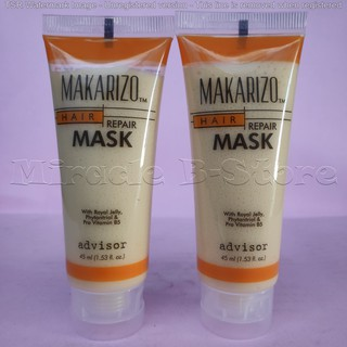 Makarizo Advisor Hair Repair Mask 15ml Sachet Satuan With Royal Jelly Masker Rambut Rusak Kering Shopee Indonesia