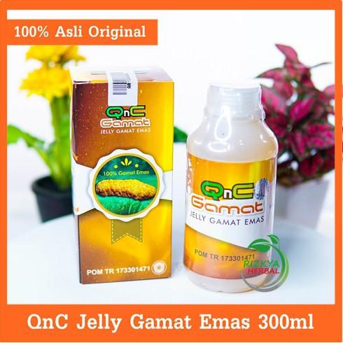 Obat Kelenjar Tiroid-Obat Gondok-Obat Benjolan Di Leher-Obat Kelenjar Getah Bening-QnC Jelly Gamat | Shopee Indonesia